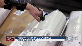 Holiday shipping deadlines and prices