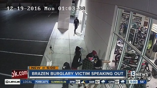 CAUGHT ON CAMERA: Gang steals bikes from Yamaha