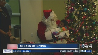 Children with disabilities surprised with gifts