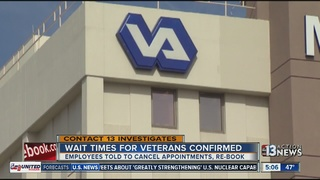 CONTACT 13: Wait times for veterans manipulated
