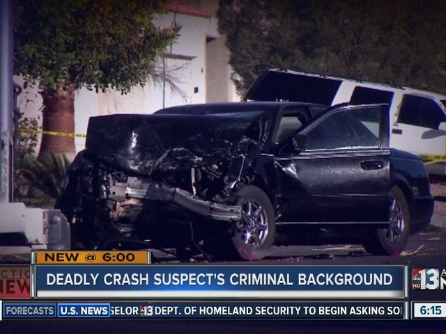UPDATE: Man arrested in North Las Vegas crash that killed 3