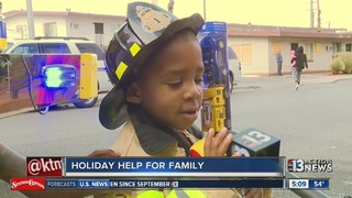 Firefighters help restore Christmas for family