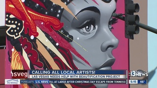 City of Las Vegas looking for artists
