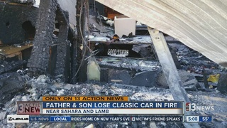 UPDATE: Fire destroys father's gift to son