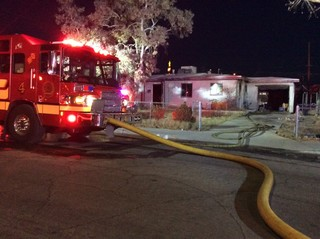 UPDATE: House fire likely started by squatters