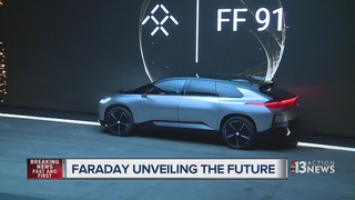 Faraday Future unveils production car at CES