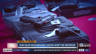 CONTACT 13: New background check law is a no go