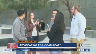 Affordable Care Act supporters advocate for law