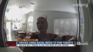 Las Vegans falling victim to theft via Facebook