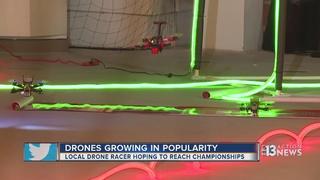 Las Vegas teen races into CES
