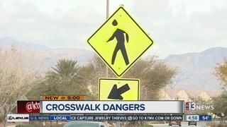 NLV neighborhood worries about unsafe crosswalk