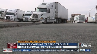 YOU ASK: Viewer says trucks parked illegally