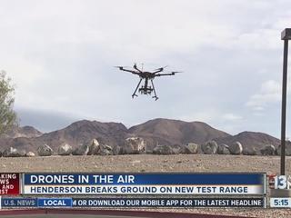 Henderson breaks ground on drone testing site