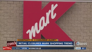 Macy's, Kmart closures in valley signal trend