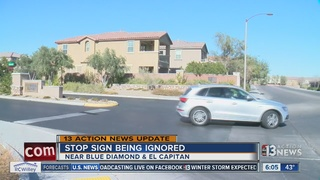 UPDATE: HOA responds to stop sign issue