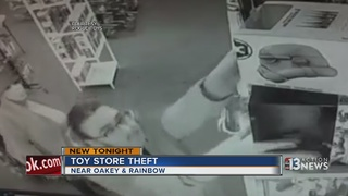 CAUGHT ON CAMERA: Theft at Rogue Toys