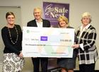 Safe Nest receives $10,000 donation
