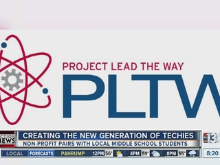Project Lead the Way brings tech to schools