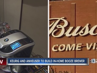 Keurig is making an in-home booze machine