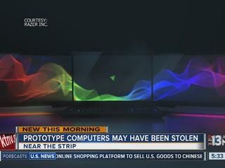 Laptop heist at CES