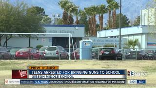 Teens arrested after bringing gun to school