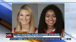 2 UNLV basketball players suspended after brawl