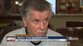 CONTACT 13: Tips before signing gym contract
