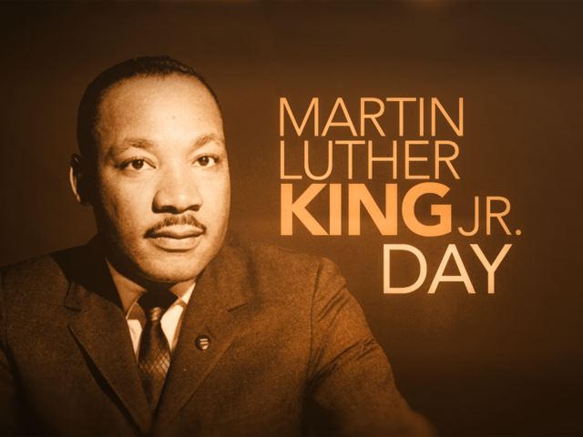 Martin Luther King holiday notices