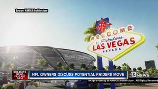 NFL owners meet to discuss possible Raiders move
