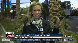 Wind advisory in effect until 4 p.m.