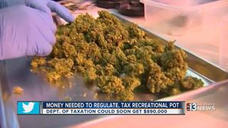 State closer to funding taxes for marijuana