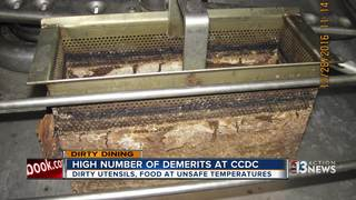 DIRTY DINING: CCDC employee dining room