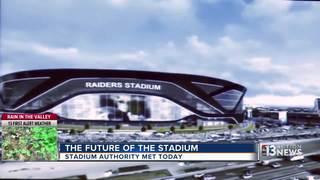 Las Vegas Stadium Authority holds meeting