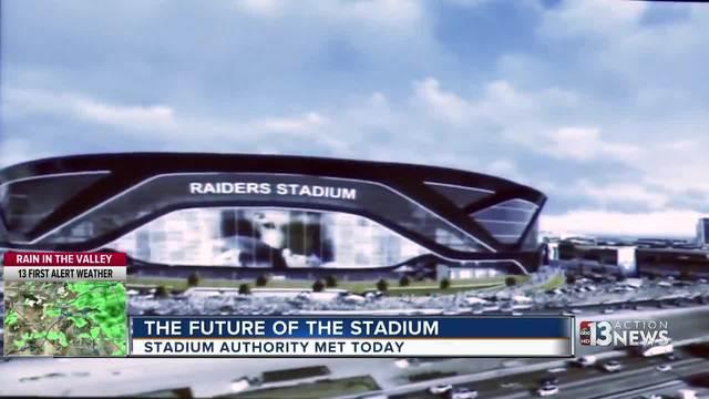 Las Vegas Stadium Authority holds meeting