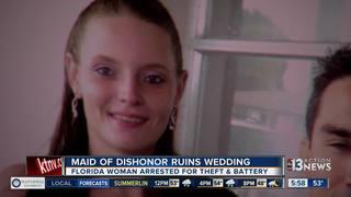 Woman ruins best friend's wedding reception
