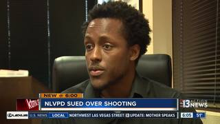 Man takes legal action after police shooting