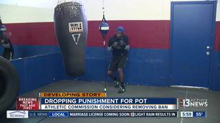 Nevada boxing industry could welcome marijuana
