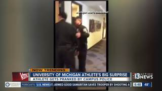 U-M surprises one of its basketball players