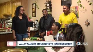 Family describes living paycheck to paycheck