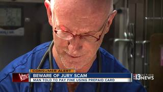 CONTACT 13: Beware of jury duty scam