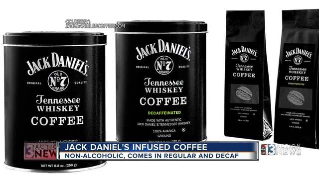 Jack Daniels launches brand of whiskey flavored coffee