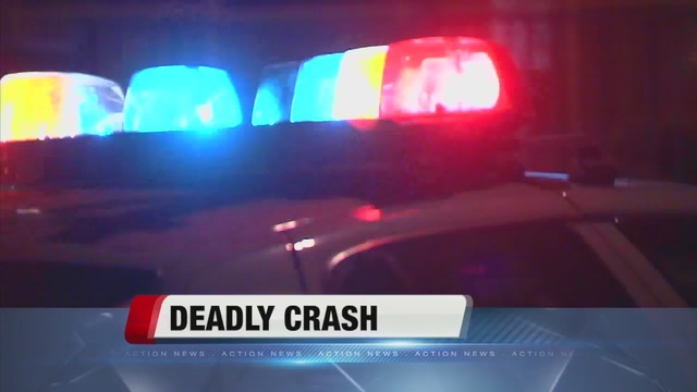 One killed in crash on Monday afternoon
