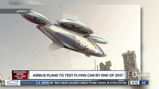 Airbus plans to test flying car by end of 2017