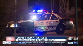 UPDATE: Police shot at during traffic stop