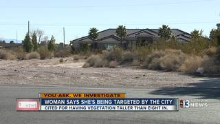 YOU ASK: Woman fighting city over property