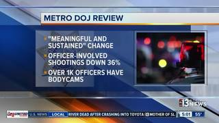 Department of Justice releases review on LVMPD