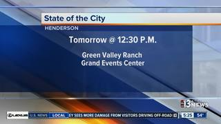 Henderson mayor presents State of the City