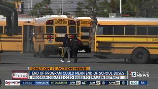 Selling buses could mean more money for CCSD