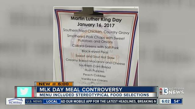 YOU ASK: MLK Jr. Day menu offends employees