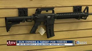 Gun owners a target for Las Vegas valley thieves